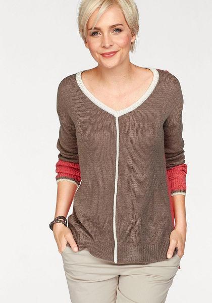 Boysen's V nyakú pulóver