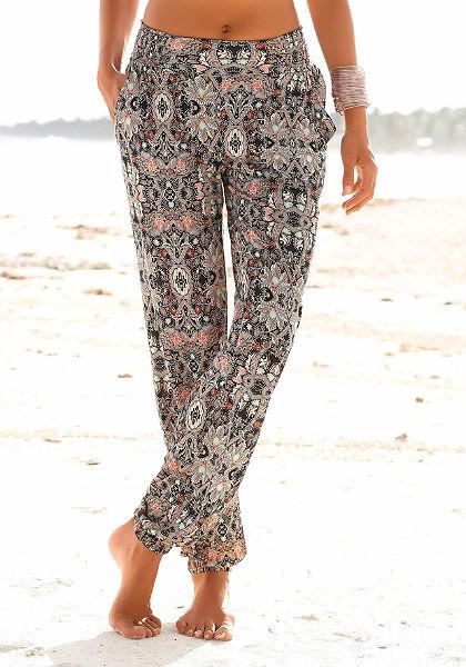 s. Oliver RED LABEL Beachwear Plážové kalhoty