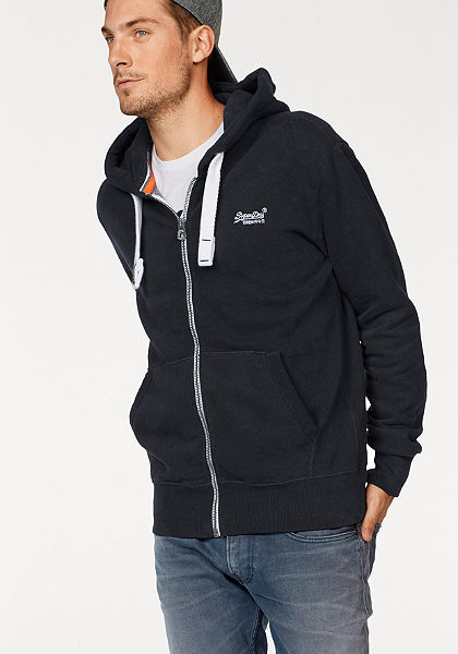 Superdry Mikina s kapucňou »ORANGE LABEL ZIPHOOD«