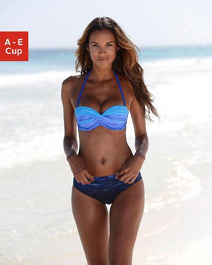 LASCANA merevítős bandeau bikini