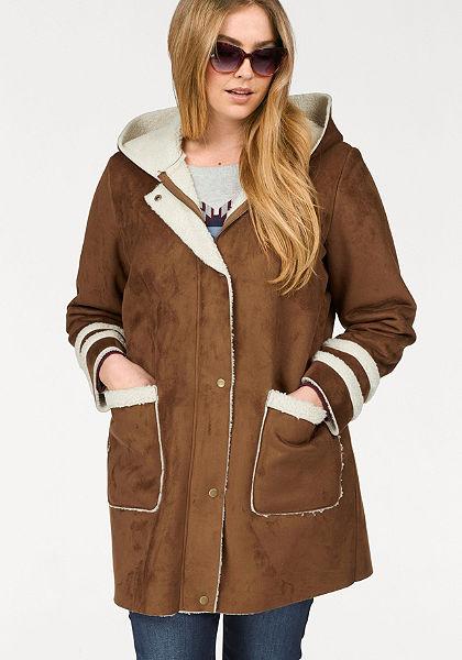 Junarose Koženkový kabát