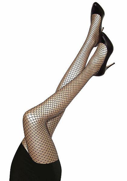 Sympatico Sieťované pančuchové nohavice, pohodlné zápästia