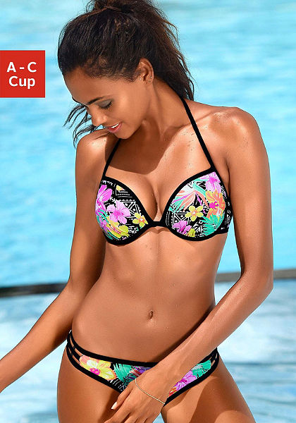 Push up bikini , Bench
