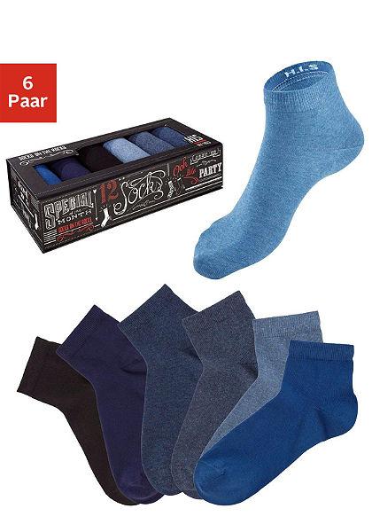 H.I.S Krátke ponožky (6 párov)