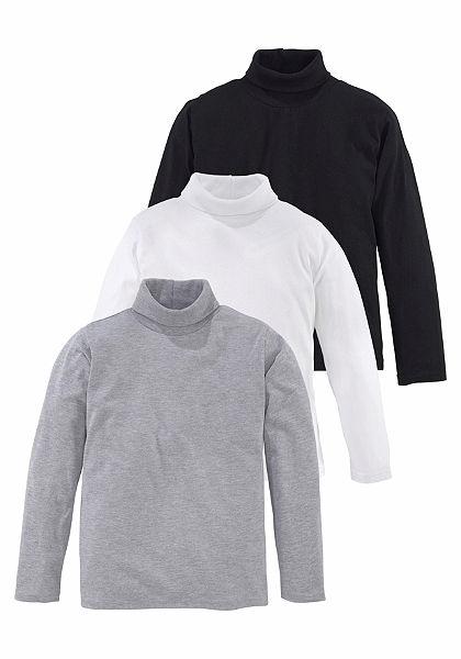 Arizona garbónyakú póló (csomag, 3 részes)