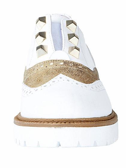 Heine Nazouvací boty s dírkovaným vzorem