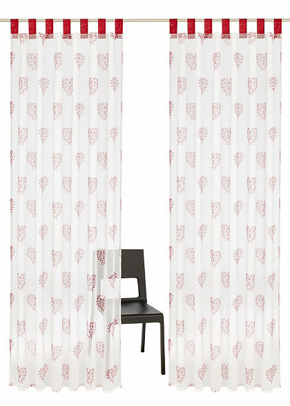 Záclona, Home affaire Collection »Meduno« s poutky (2 ks)