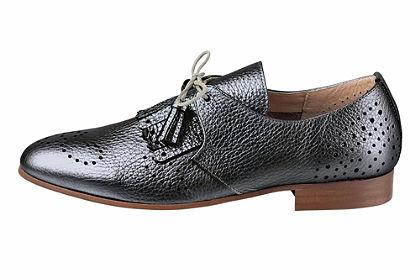 Heine Šnurovacie topánky s metalickým efektom