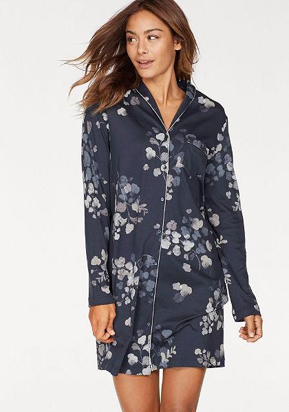 CALIDA Noční košile »Julianne« v klasické podobě