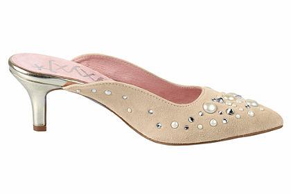 XYXYX Papuče s kamienkami