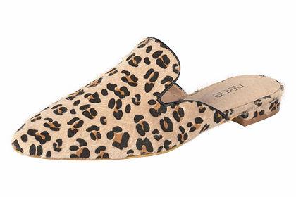 heine Šľapky leopardí vzor