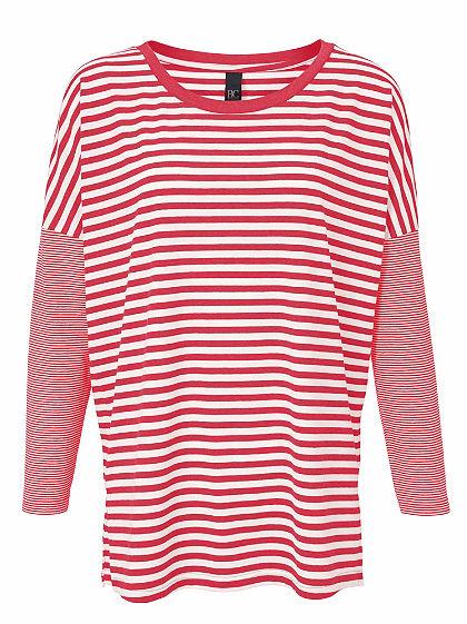 B.C. BEST CONNECTIONS by Heine Pruhované tričko v ležérním střihu