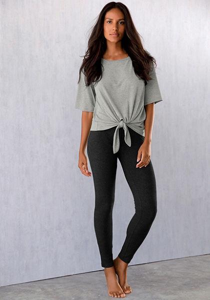 LASCANA bordázott leggings