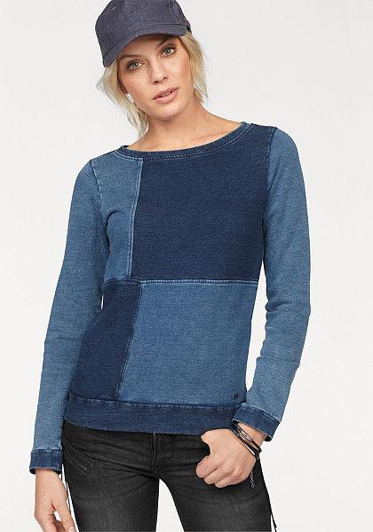 Arizona pulóver »Denim-Look«