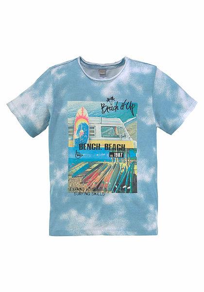 Bench póló batikolt mintával