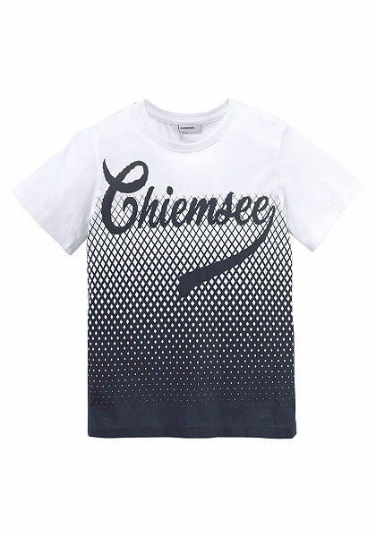 Chiemsee póló nyonmott mintával dzsörzé anyagból