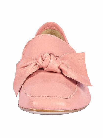 heine Nazúvacie topánky s aplikáciou mašlí