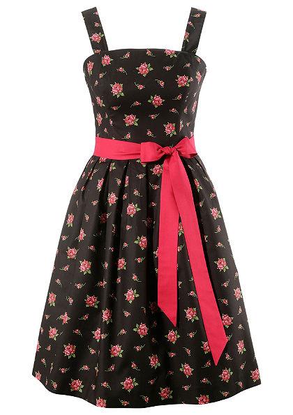 Love Nature Dámske šaty s krojovým motívom a módnym pásom