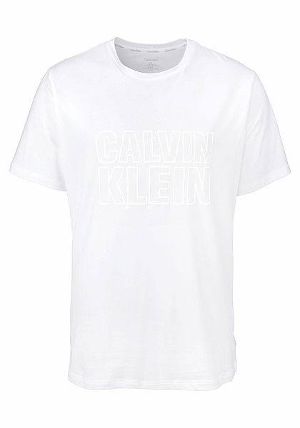 Calvin Klein Pánske tričko s potlačou loga