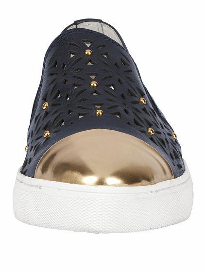 heine Nazúvacie topánky s výrezom