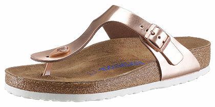 Birkenstock lábujjközös papucs fémes hatással »GIZEH BS«