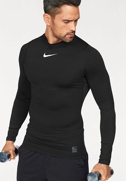 Nike Športové tričko »M NIKE PRO WM TOP LONGSLEEVE COMP MOCK«