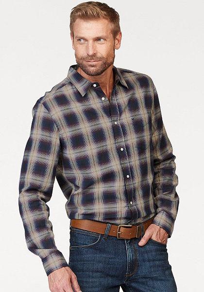 Wrangler Košeľa s dlhými rukávmi »LS 1PKT Tričko«