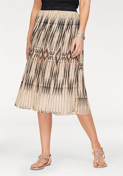 b.young Plisovaná sukně »Gagianne«