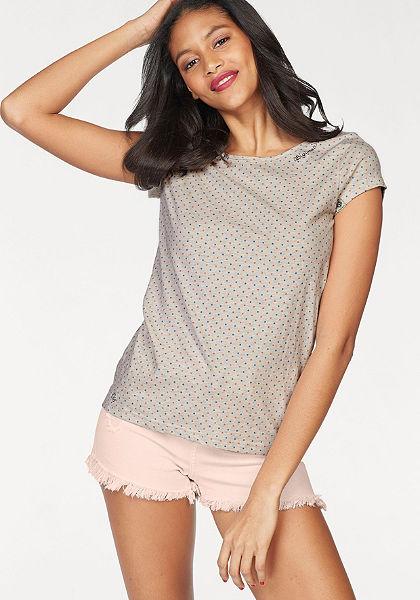 Ragwear kereknyakú póló »Mint Dots«