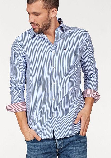 TOMMY JEANS Košile »TJM CLASSIC STRIPE SHIRT«