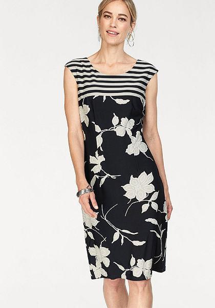 HERMANN LANGE Collection dzsörzé estélyi ruha virágmintával