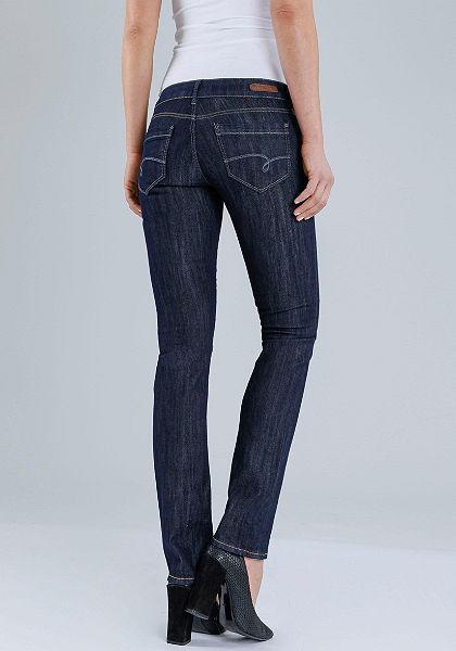 Mavi Jeans straight farmer elasztikus anyagból logó mintával »JULIA«