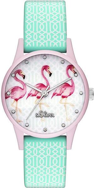 s.Oliver RED LABEL Náramkové hodinky »SO-3513-PQ«