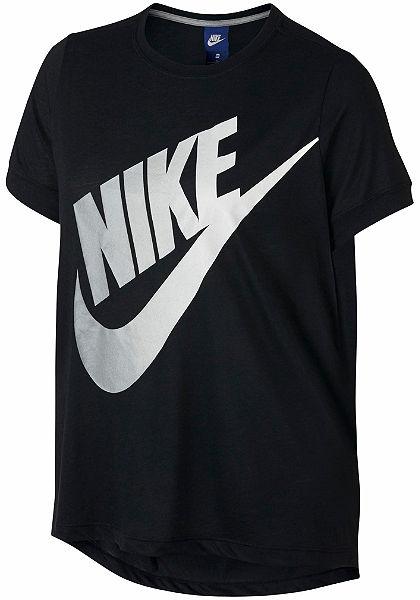 Nike Sportswear Tričko »NSW TOP SS LOGO FUTURA EXT PLUS SIZE«
