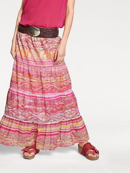 RICK CARDONA by heine Vzorovaná sukně s elastickým pasem