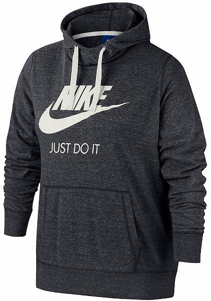 Nike Sportswear Mikina s kapucí »GYM VNTG HOODIE HBR EXT PLUS SIZE«