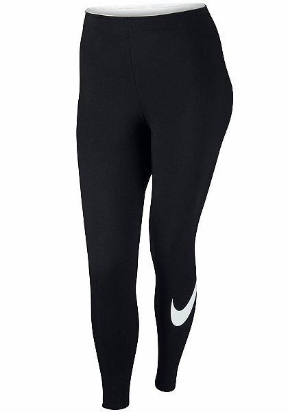 Nike Sportswear Legíny »W NSW LGGNG CLUB LOGO2 EXT PLUS SIZE«