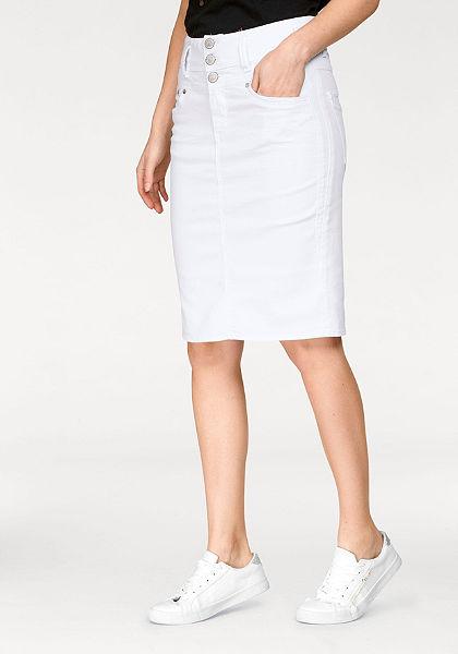 Herrlicher Riflová sukně »RAYA«