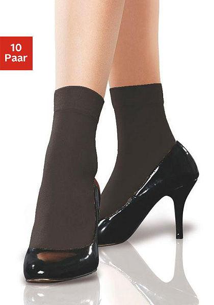 Disée Pančuchové ponožky 15 DEN vpolopriesvitnom vzhľade (10 párov)