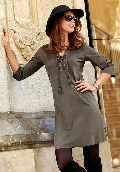 Laura Scott ruha fűzős dekoltázzsal
