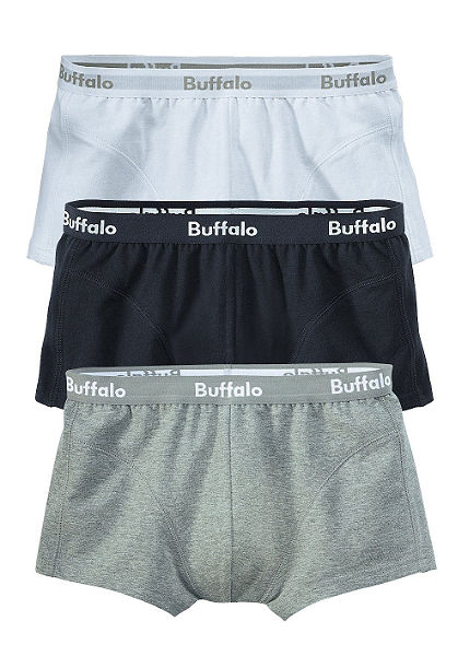 Boxerelsó, Buffalo, pamut (3 db)