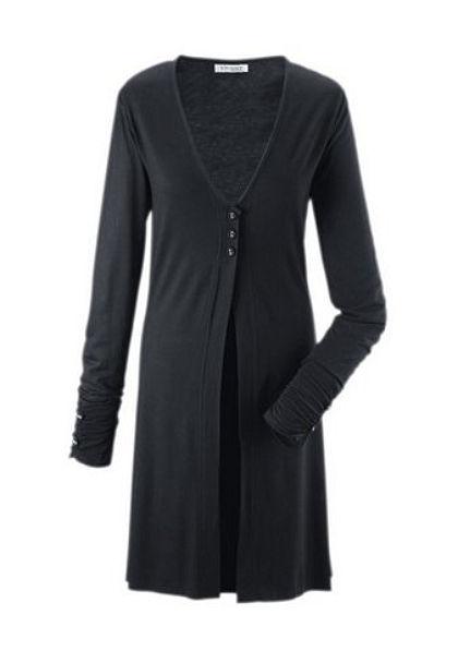 Dlhý pletený sveter, Vivance Collection