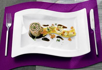 Plytký tanier, Villeroy & Boch »nová vlna« (2 ks)