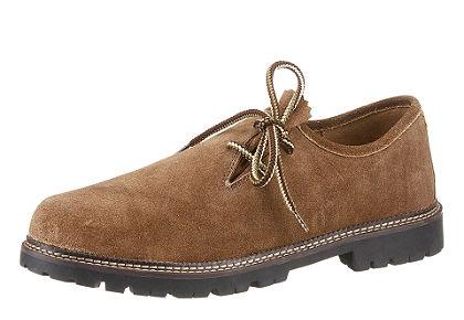 Férfi félcipő mintás cipőfűzővel, Stockerpoint