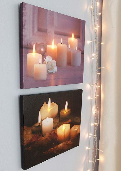 Súprava svetelných obrazov LED