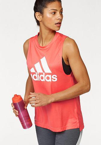 adidas Performance adidas Performance Top »BOXY TANK DEEP ARMHOLE POLY« černá - standardní velikost M (38/40)