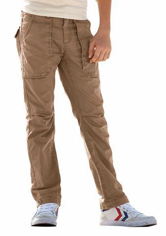 Arizona Arizona Cargo kalhoty středně hnědá - standardní velikost 128