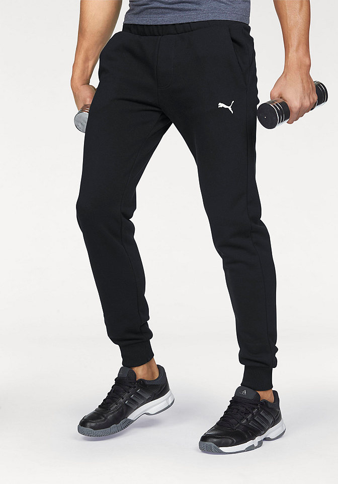 0f955e0467b4 PUMA Herren Hose ESS Sweat Pants, TR cl, Cotton Black, XL, 838376 01. EAN  4056205877127