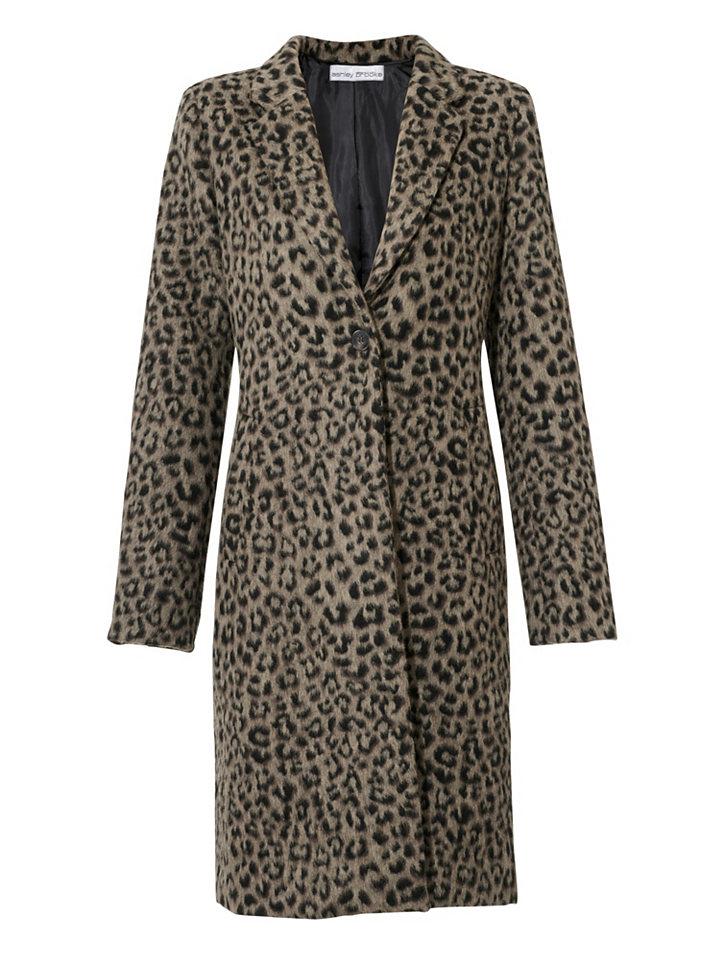 ASHLEY BROOKE by heine Krátký kabát leopardí vzor