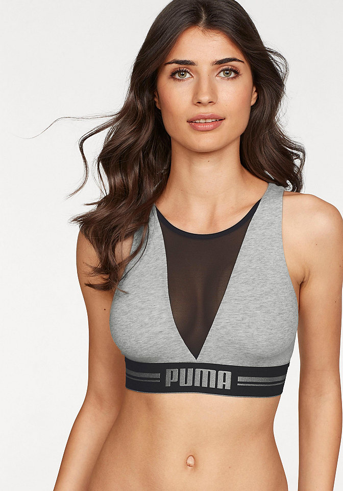 Puma Podprsenkový top »High Neck Bra with Mesh«